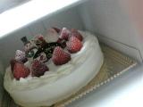 ☆クリスマスケーキとお届けもの(^O^)♪の画像(1枚目)