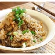 「牛肉とキムチの炊き込みご飯」我が家の【炊込みご飯】写真コンテスト!食塩無添加★さっぱりだしで美味しい料理をの投稿画像