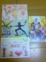 「新・三銃士のポストカード」の画像(3枚目)
