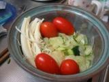 トマトサラダwithチーズ