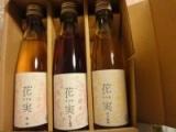 「【祝当選!】 『花実(かさね)』梅酒3本セット」の画像(1枚目)