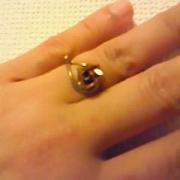 「バラの指輪」【応募者全員にプレゼント有り】身近にあるバラを探してみよう!の投稿画像