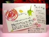 「バラの写真でラ・ミューテの洗顔フォームをゲッツッ☆」の画像(2枚目)