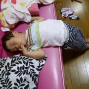 「◆マジで寝てます(^▽^;)◆」【おもしろ写真募集】川越達也シェフ大絶賛!極甘とうもろこし2本のモニター募集!の投稿画像