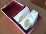 【懸賞生活42】 「アンジェのホワイトいちごチョコ」頂きました!の画像(1枚目)