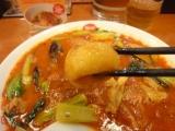太陽のトマト麺の「太陽のトマトカレー麺」の画像(3枚目)