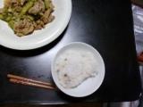「【フヨウサキナ】〈はと麦十八穀〉国内産100% サキナ 穀みのりを食べてみました」の画像(1枚目)
