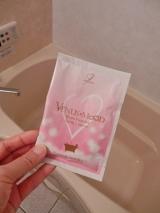 お試し!入浴剤『VENUS MOOD』ナチュラルパウダー@モニプラの画像(2枚目)