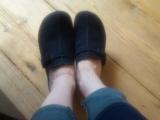 疲れない靴