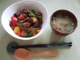 口コミ記事「なすとピーマンの田楽味噌丼」の画像