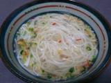 """【モニプラ】はりま製麺 『スープ""""で""""うどん 《ふんわりかき玉味》』の画像(2枚目)"""