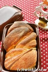 ケデップ ブレッドケースで♪自家製酵母のバターブレッド