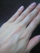 ☆麻の手袋で手のケアの画像(4枚目)