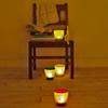 【ecolor】太陽光で点灯する「ソーラーキャンドルライト」