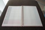 とても使いやすい!シャチハタさんのスケジュール帳「opini」の画像(6枚目)
