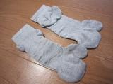 シャルレさんの歩行メカニズムに基づいた歩くための靴下「サポートウォーク(R)ソックス」