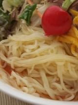 口コミ記事「サンサスの;きねうち麺冷し中華麺」の画像