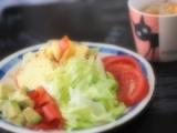 「ケークサレでカフェ風ランチ」の画像(1枚目)