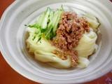 「きねうち麺、きしめんでじゃーじゃー麺風」の画像(2枚目)
