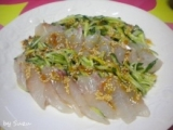 サムジャンで鯛のカルパッチョの画像(1枚目)