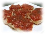 蟹と蟹みその本格トマトソースの画像(2枚目)