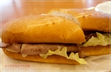 贅沢ミラノサンド ローストビーフ~特製デミグラスソース~、食べてきました@ドトールコーヒーの画像(2枚目)