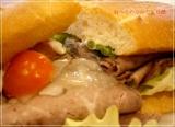 贅沢ミラノサンド ローストビーフ~特製デミグラスソース~、食べてきました@ドトールコーヒーの画像(3枚目)