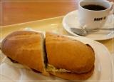 贅沢ミラノサンド ローストビーフ~特製デミグラスソース~、食べてきました@ドトールコーヒーの画像(1枚目)