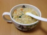 大江ノ郷自然牧場「蟹雑炊」食べてみました(*^_^*)
