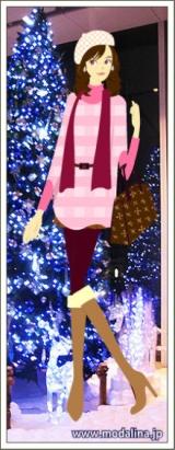 「モダリーナ☆クリスマスにお出かけ」の画像(1枚目)