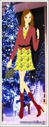 「モダリーナ 「クリスマスにお出かけ」」の画像(1枚目)