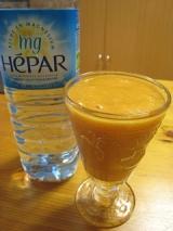 超硬水のミネラルウォーター『HEPAR』を飲んでみました。