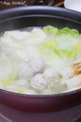「少人数家庭に便利♪「鍋キューブ」で鶏団子鍋☆クロネコポイント交換しました」の画像(1枚目)