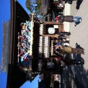 「快晴の初詣」【新春写真コンテスト】温泉水99 2L×6本 20名様プレゼント!の投稿画像