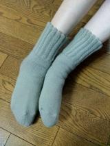 『毛布のような靴下』