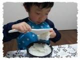 パンダおにぎりで食欲UP!!『パンダおにぎりセット』でおにぎりを作ろう♪p(^-^)q