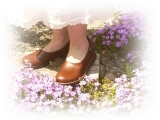 ベルの靴で、春色コーデ♪ | haru