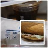 ミラノサンド チキンと生ハムのアドカドソース~ゆず胡椒風味~、食べてみましたの画像(1枚目)