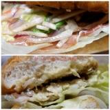 ミラノサンド チキンと生ハムのアドカドソース~ゆず胡椒風味~、食べてみましたの画像(3枚目)