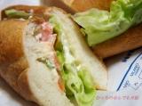 ミラノサンドB 海老とスモークサーモン~タルタルソース~食べてみました@ドトールの画像(2枚目)