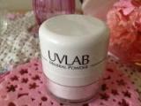 可愛くて便利なポンポンパウダー♪「UVLAB 紫外線カットパウダー」*明色化粧品*の画像(5枚目)
