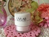 可愛くて便利なポンポンパウダー♪「UVLAB 紫外線カットパウダー」*明色化粧品*の画像(8枚目)