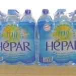 フランス産超硬水【HEPAR(エパー)】でデトックス体験