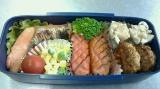本日のお弁当~~♪ 天美卵で黄金チャーハン(*^。^*)…(6・3)