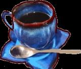 きれいなカップインコーヒーの画像(1枚目)