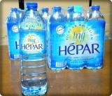 「プレミアム・ミネラルウォーター HEPAR(エパー)」を飲みました