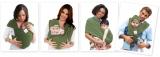 【夏のお出かけに便利!】肩と腰の負担を軽減Baby K'tanベビーキャリアの画像(1枚目)