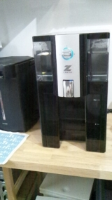 ゴミの出ない浄水器、ポータブルウォーターサーバーZ-1の画像(1枚目)