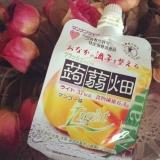 【マンナンライフ】クラッシュタイプの蒟蒻畑ライト マンゴー味の画像(1枚目)