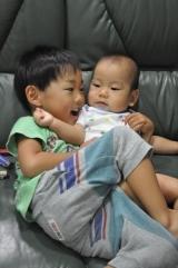 みなみ4歳2ヶ月&あおい8ヵ月♪の画像(6枚目)